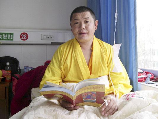 大恩上师普巴扎西仁波切带病为弟子开示(2006年上海)