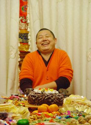 欢喜自在——大恩上师普巴扎西仁波切于南京(2009年)